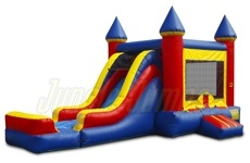 Combo Castle with Jump castle and slide