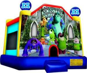 Monsters university jump castle